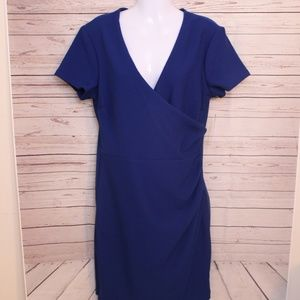 Bisou Bisou Royal Blue Dress Size 14 NWT
